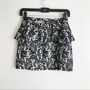 Topshop Tulip Lace Mini Skirt